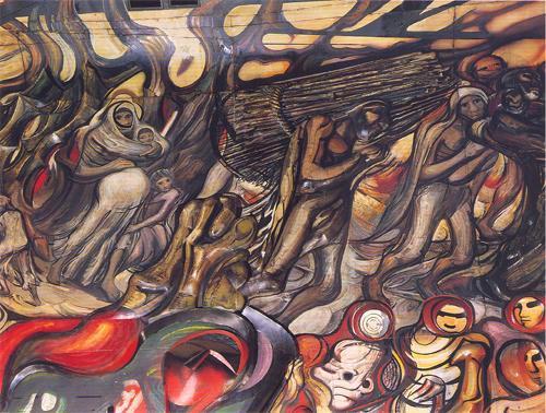 Goya to beijing perspective d siqueiros for David alfaro siqueiros mural tropical america