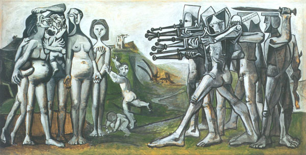 Pablo Picasso, Massacre in Korea